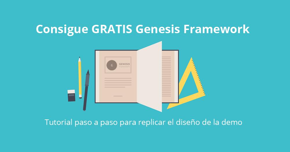 Genesis Framework gratis para WordPress